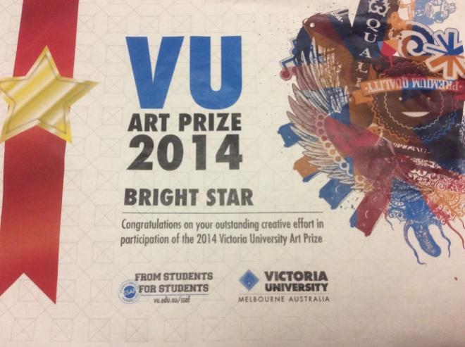 vu art prize 2014